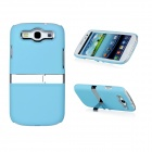 Protective ABS Stand Case for Samsung i9300 Galaxy S3 - Blue