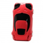 Protective Sports Car Shape Case for Iphone 4 / 4S - Red