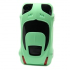 Protective Sports Car Shape Case for Iphone 4 / 4S - Green
