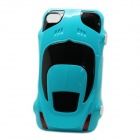 Protective Sports Car Shape Case for Iphone 4 / 4S - Light Blue