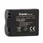 Genuine Travor S006E 7.4V 710mAh Battery Pack for Panasonic Camera - Black