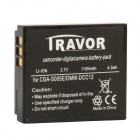 Genuine Travor S005E 3.7V 1150mAh Battery Pack for Panasonic Camera - Black