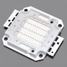 30W 600lm 460-465nm Square LED Blue Light Module (32~34V)