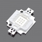 10W 200lm 460-465nm Square LED Blue Light Module (9~11V)
