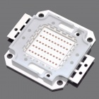 50W 2500lm 620-625nm Square LED Red Light Module (22~24V)