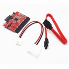 IDE HDD to Serial SATA Converter Adapter - Red