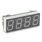 "DIY 0.56"" 4-Digit Red LED Electronic Clock Temperature Display Module - Green"