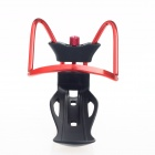 DIY Motorcycle / Electric Bicycle / Bicycle Adjustable Bottle Holder - Red + Black