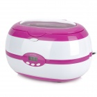 Multi-Function Cleaner 50W Ultrasonic - Roxo + Branco (600ml / AC 220 ~ 240V / 2-Flat-Pin Plug)