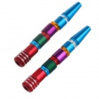 DIY Aluminum Alloy Motorcycle Multi-Color Rocket Screw