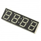 "DIY 0.56"" 3-in-1 4-Digit LED Electronic Time / Temperature / Voltage Display Module - Green"