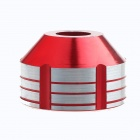 Motorcycle Shock Absorber Protection Cups - Red + Silver (2 PCS)