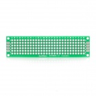 20 x 80 mm de doble cara PCB placas de prototipos (25 PCS)