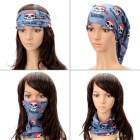 Multifunction Outdoor Sports Bicycle Cycling Seamless Head Scarf - Bluish Grey