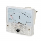 HUA 85L1 Analogue 20A Current Panel Meter Ammeter - Light Blue + White