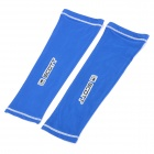 SCOTT Sports Cycling Bike Bicycle Oversleeves - Blue + White (Pair / Size S)