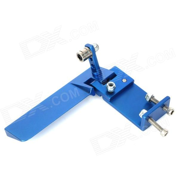 75mm Water Cooling System Rudder for R/C Boat Ship - Blue kus boat marine rudder angle gauge indicator w dual station rudder sensor