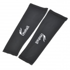 Sports Cycling Bike Bicycle Oversleeves - Black (Pair / Size XL)