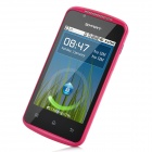 "C208 Android 2.3 GSM Bar Phone w/ 3.5"" Capacitive Screen, Dual-Band, Wi-Fi and Dual-SIM - Deep Pink"