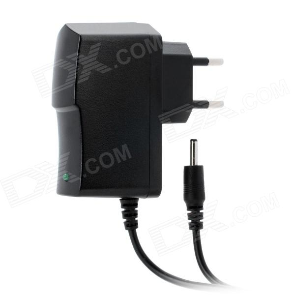 HC-716Q 3.5 x 1.35mm AC 100~240V EU Plug Power Adapter Cable - Black (1m)