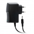 LJS-186A 3.5 x 1.35mm AC 100~240V EU Plug Power Adapter Cable - Black (1m)