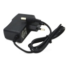 GMY-186 5.5 x 2.1mm AC 100~240V EU Plug Power Adapter Cable - Black (1m)