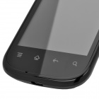 "i667 Android 2.3 GSM Bar Phone w/ 3.5"" Capacitive Screen, Wi-Fi, Quad-Band and Dual-SIM - Black"