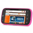 "2.3 GSM Bar i667 Android Phone w / 3,5 ""Ecran capacitif, Wi-Fi, quadri-bande et Dual-SIM - Deep rose"