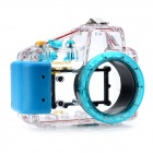 Meikon Meikon-13 Professional Water Resistant Protective Case for Sony NEX3 - Transparent + Blue