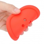 Button Style Silicone Coaster - Red