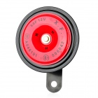 35W 105dB 3A Motorcycle Electric Vehicle Horn - Red (12V)
