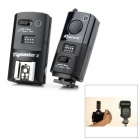 Aputure MXII-C Wireless Flash Trigger Transmitter Receiver Set for Canon - Black (2 x AA + 2 x AA)