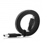 USB Male to Micro USB Male Data / Charging Cable for Samsung / HTC / BlackBerry + More - Black