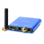 Jesurun Mini Xplus II Android 4.0 Media Player w/ Wi-Fi / 3G / 1GB RAM / 4GB ROM / HDMI / AV - Blue