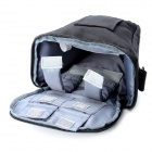 EIRMAI Nylon Shoulder Triangle Shoulder Bag w/ Rain Cover for Canon / Nikon / Pentax DSLR