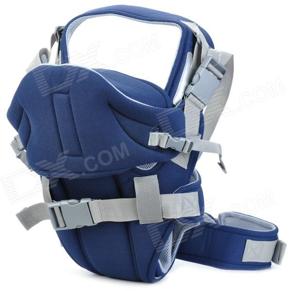 Multi-Functional Cotton Baby Carrier - Blue