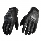 Scoyco MC08-L Full-Fingers Motorcycle Racing Gloves - Black (Pair / Size L)