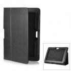 Protective PU Leather Case for Asus Transformer Pad Infinity TF700T / TF700 - Black