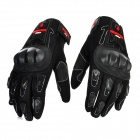 Scoyco MC12 Full-Fingers Motorcycle Racing Gloves - Black (Pair / Size XL)