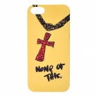 Protective PC Back Case for Iphone 5 - Yellow