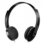 SONUN SN-884MV Stereo Headphone w/ Microphone - Black (3.5mm Plug / 200cm)