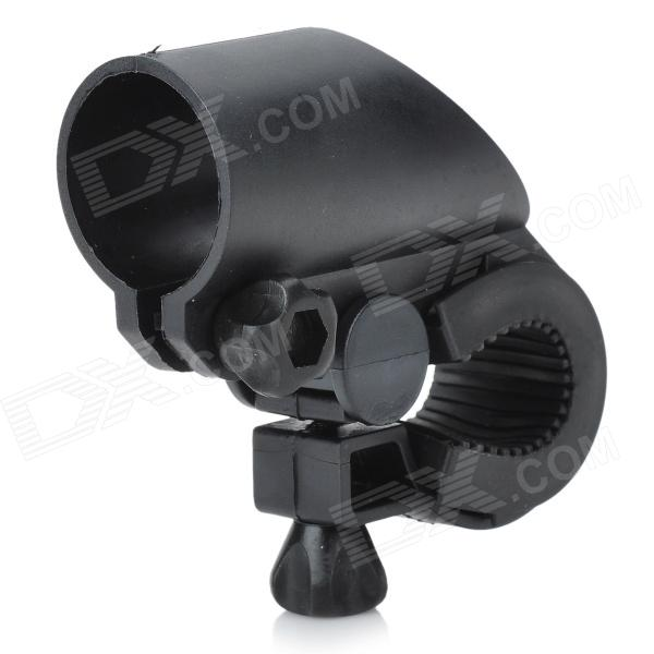 Universal Bicycle Mount for Flashlights and Gadgets (2cm~3cm) - Black