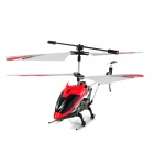 Rechargeable 3.5-CH IR Remote Controlled R/C Helicopter w/ Gyro - Red
