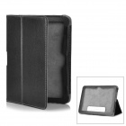 Lichee Pattern Protective PU Leather Case for Amazon Kindle Fire 7