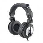 Cool Stereo Headset with Microphone - Black (3.5mm Plug)