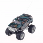 1.32 49 MHz Radio Control R / C High Speed ​​SUV Car Model Toy - Groovy Grün