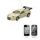 Aston Martin Style 4-CH Iphone & Android Remote Controlled R / C Car - Beige (1 x 1100mAh Batterie)