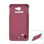 Devino D9220 2000mAh External Battery Back Case for Samsung i9220 - Fuchsia