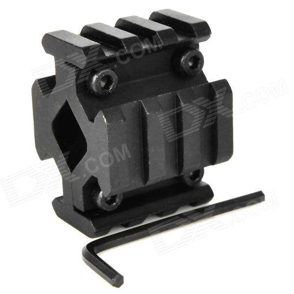 Universal liga de alumínio Weaver Estilo Quad-Rail Barrel Mount w / Hex Wrench
