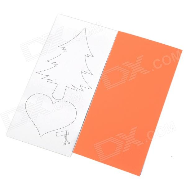 AceCamp 3919 Nylon Repair Patch for Clothes / Umbrella / Tent - Orange